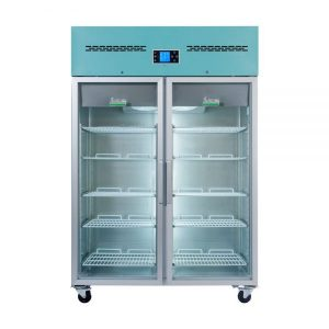 PGR1200UK Large Pharmacy Refrigerator Glass Door Closed