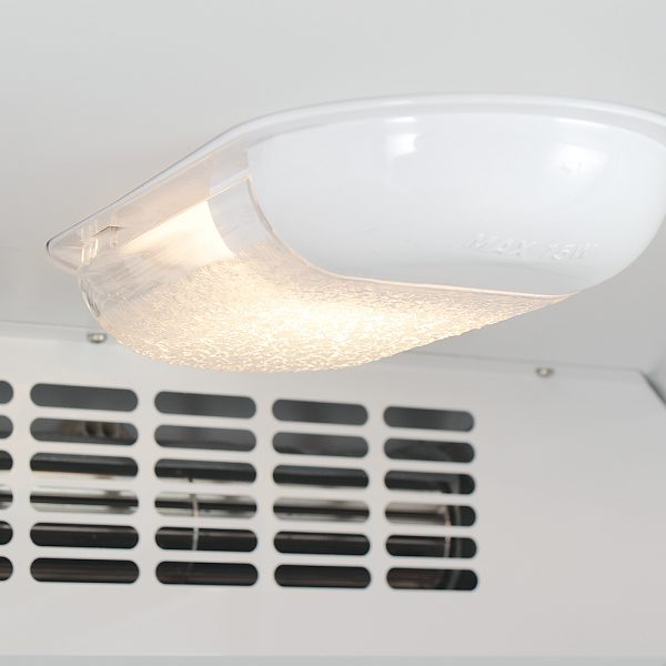 PGR353UK Pharmacy Refrigerator Glass Door Light And Fan