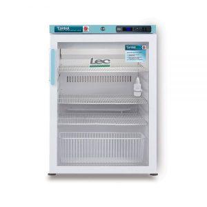 PGRC151UK Pharmacy Refrigerator Glass Door Closed