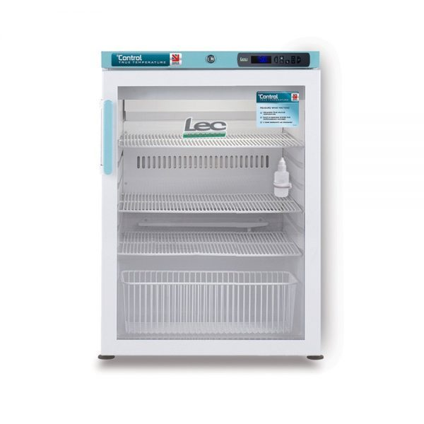PGRC151UK Pharmacy Refrigerator Glass Door Closed
